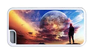Hipster iPhone 5C cases crazy dream world TPU White for Apple iPhone 5C