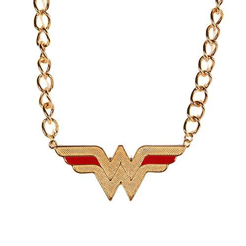 DC+Comics Products : Bioworld DC Comics Wonder Woman Logo Necklace