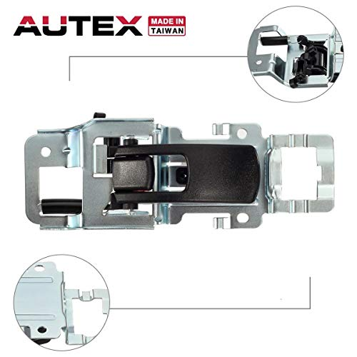 - AUTEX Door Handle Interior Front/Rear Right Black Compatible with Chevrolet Equinox 2005-2009 Door Handle Replacement for Pontiac Torrent 2006-2009 Door Handle Passenger Side 15926298