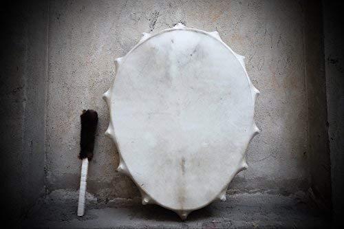 30'' Tambourine Siberian Shamanic Egg Drum Frame drum Handcrafted Powerful sound by Siberian Shamanic
