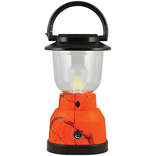 REALTREE 14200 350-Lumen Plus Series RealTree(R) Camouflage Lantern (4 D batteries; Orange) Camping & hiking by Realtree