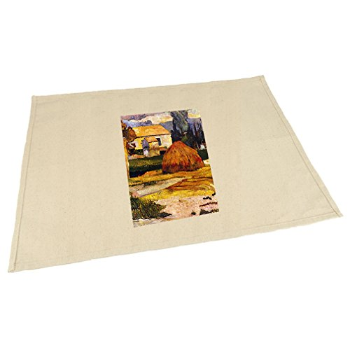 Style in Print Landscape, Arles (Gauguin) Cotton Canvas Placemat Table Mat (Canvas Arles)