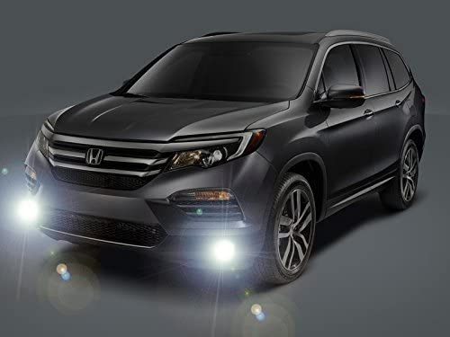 Amazon.com: BLINGLIGHTS Xenon Halogen Fog Lamps Driving Lights Kit  Compatible with 2016 2017 2018 2019 2020 2021 Honda Pilot: AutomotiveAmazon.com