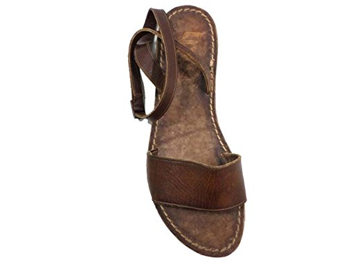 Zapatos Mujer EDDY DANIELE 37 EU Sandalias Marrón Cuero AW403 / AW404