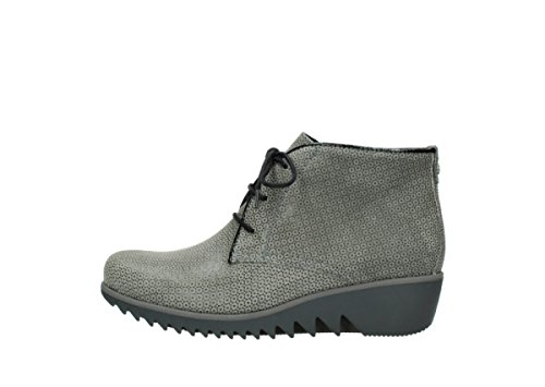 Boots Printed Wolky Winter Suede Leather 90153 Dusky Womens Taupe IIwHvP