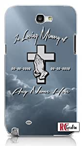 In Memory Of Keepsake MEMORIAL/Deceased LOVED ONES - Blue Sky Iphone 5 Quality TPU Soft Rubber Case for Iphone 5 - AT&T Sprint Verizon - White Case