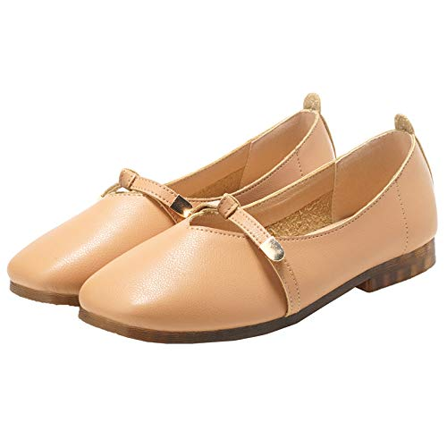women work shoes casual comfortable shoes bottom single FLYRCX ladies shoes Shallow B shoes flat office soft pregnant mouth 7nO4nFXZ