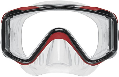 Scubapro Crystal Vu mask - Red