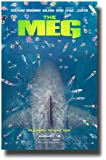 The Meg Poster Movie Promo 2018 11 x 17 inches Megalodon Swimmers