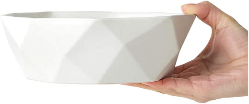 8 format bol /à salade en forme de grand bol /à fruits blanc grand et anti-d/érapant en forme de corbeille de fruits corbeille de fruits Bol En C/éramique Dessin/é /à La Main Bol en c/éramique japonaise