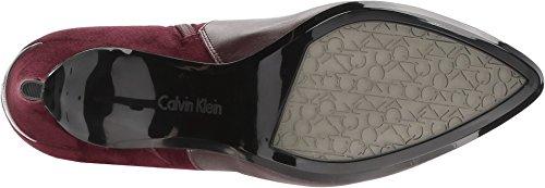 Cow Silk Klein Oxblood Calvin Microsuede Boots Jemamine xvPwIqa