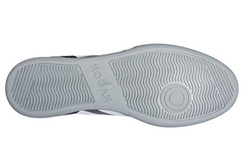 Hogan Uomo Scarpe Sneakers In Camoscio Scarpe H357 Grigio
