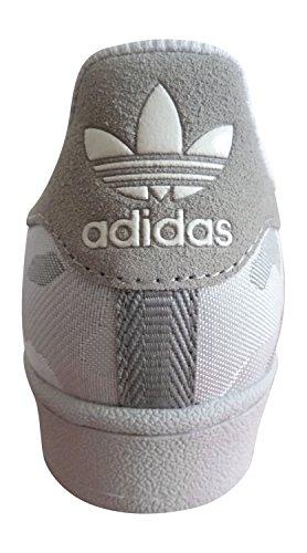 Adidas Originaler Super Veve Menns Trenere Joggesko Sko (oss 7,5, Lsgogr / Owhite / Ftwwht Aq6744)