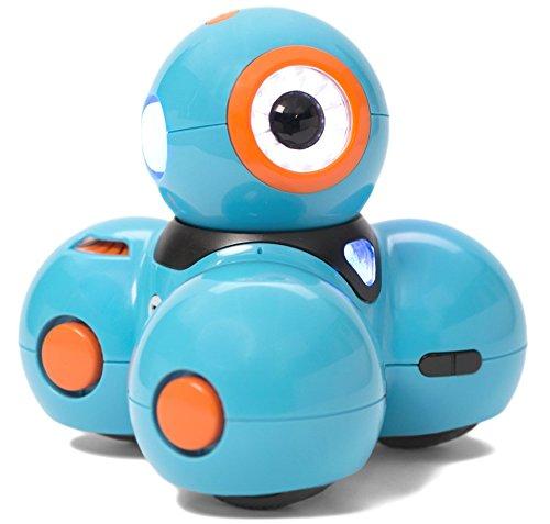 image Wonder Workshop Robot Dash de Le Jouet pour Filles et garçons pour Apprendre à Programmer en s'amusant – Le Robot Jouet éducatif Mist/Steam avec Applications gratuites
