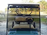EZGO TXT / Medalist / PDS / ST Folding Tinted Windshield for 1994-2000.5 Models - Foldable, TINTED, Impact Resistent