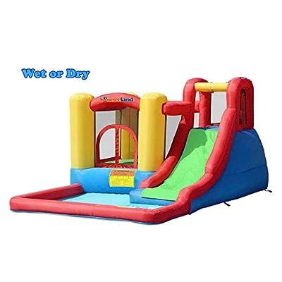 Bounceland Jump and Splash Adventure Bounce House Bouncer: Toys & Games