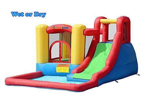 Bounceland Jump and Splash Adventure Bounce House Bouncer