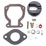 Carburetor Repair Rebuild Carb Kit w/Float For 4-15 hp Johnson Evinrude 398453