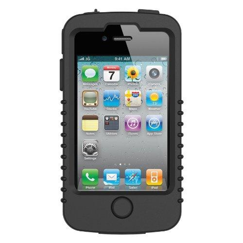 Trident - Cyclops 2 II Shell silicone étui Peau Housse - pour Apple iPhone 4 4S - Noir