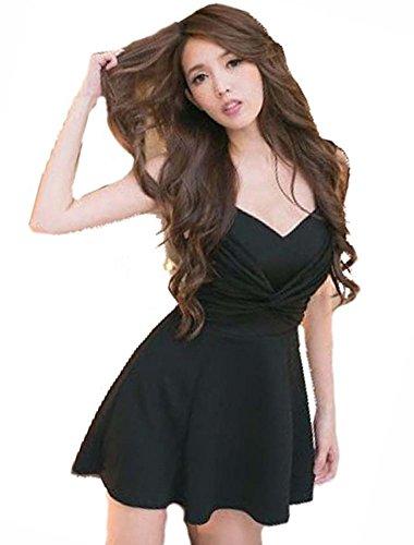 カエル鳴らす下KimBerley シースルー フレア ミニ ワンピース ドレスライン キャバドレス ナイトドレス キャバ嬢 ファッション 黒 セクシー パーティー