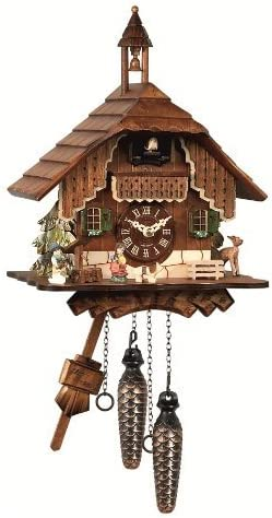 Engstler Quartz Cuckoo Clock Black Forest House EN 429 Q