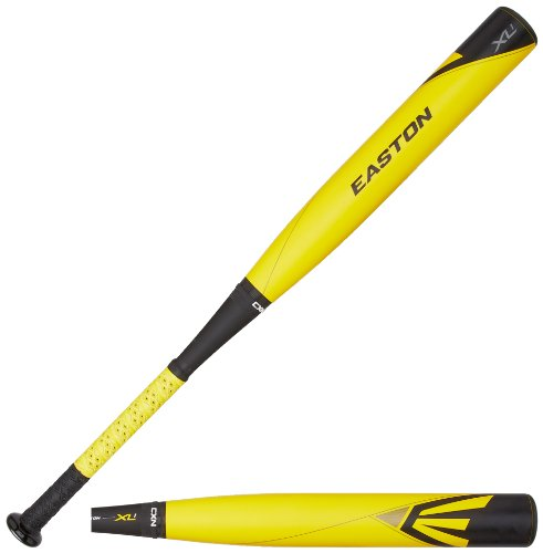 Easton YB14X1 XL1 Composite-10 Youth Baseball Bat, Yellow/Black, 31-Inch/21-Ounce