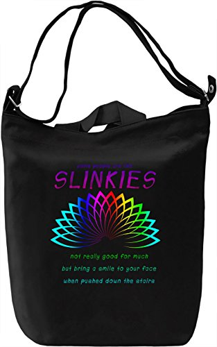 Some people are like slinkies Borsa Giornaliera Canvas Canvas Day Bag| 100% Premium Cotton Canvas| DTG Printing|