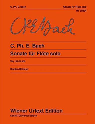 Sonata: Per Il Flauto Traverso Solo Senza Basso (for Flute) pdf