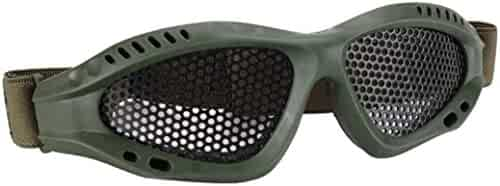 Dreamen Safety Comfortable Cool Glasses Goggles Anti-explosion Outdoor Protective Eyewear For Nerf Game (ARMY GREEN)