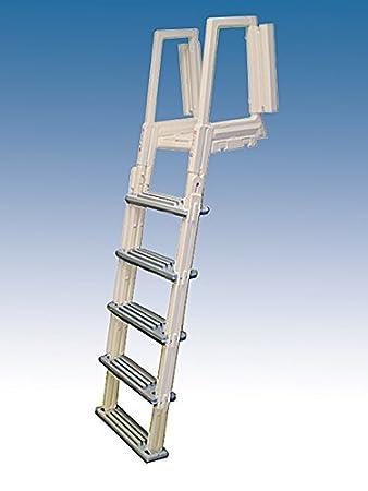 confer plastics above ground flip up in frame pool ladder