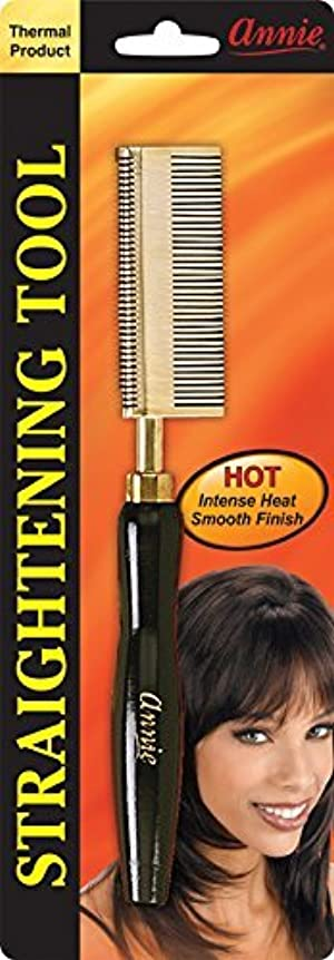 PROFESSIONAL PRESSING COMB /HOT COMB / ANNIE STRAIGHTENING COMB / PROFESSIONAL HAIR BRUSH / SALON HAIR BRUSH by Annie