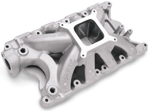 Edelbrock 2924 Super Victor Aluminum Intake (Edelbrock Super Victor Intake Manifolds)