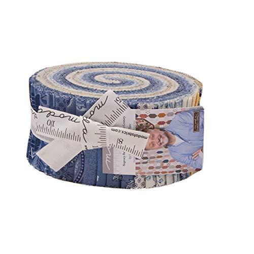 - Christopher Wilson-Tate Regency Ballycastle Chintz 18th Century Jelly Roll 40 2.5-inch Strips Moda