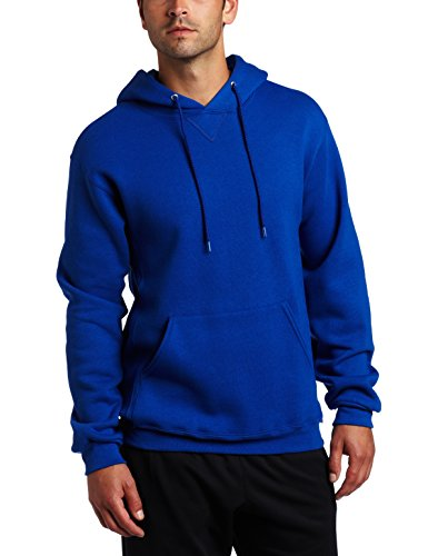 Russell Athletic Men's Dri Power Pullover Fleece Hoodie, Royal Blue, Small