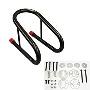 """Kage Racing (MCCH6.5) 6.5"""" Removable Motorcycle Wheel Chock Kit"""