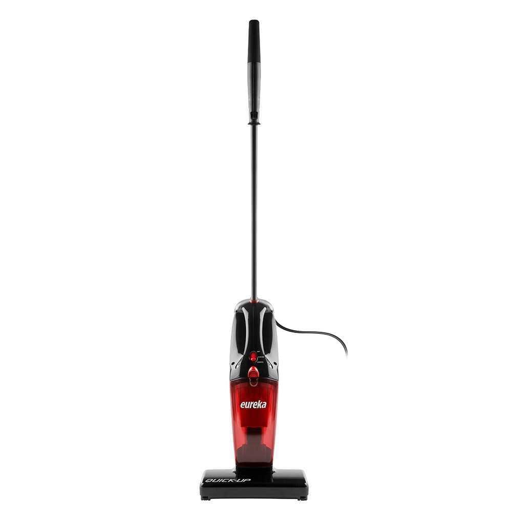 Eureka 2-in-1 Quick-up Bagless Stick Vacuum Cleaner, Red