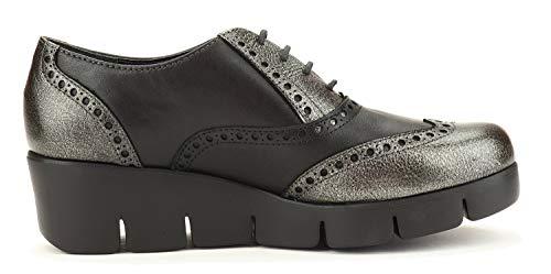13 Femme Gris Classique Noir Avec Et Chaussures The Fer Tralls Flexx Nouveaux B254 Cale a1TwFZ0Fqf