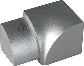 Außenecke 6mm Edelstahl V2A glzd Viertelkreis Ecke Edelstahlschiene 1A Qualität