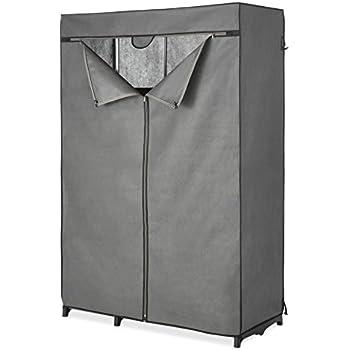 Amazon Com Whitmor Extra Wide Portable Clothes Closet
