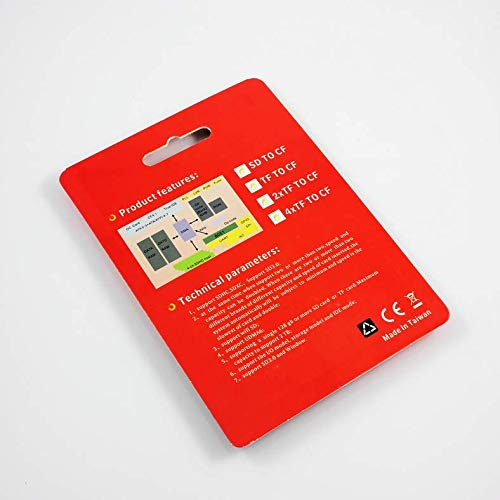 Adaptador de Tarjeta SD CF inalámbrico WiFi SD MMC SDHC SDXC ...