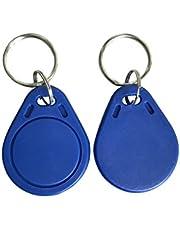 NFC Fob MIFARE Ultralight EV1 13.56mhz Blue Key (Pack of 10)