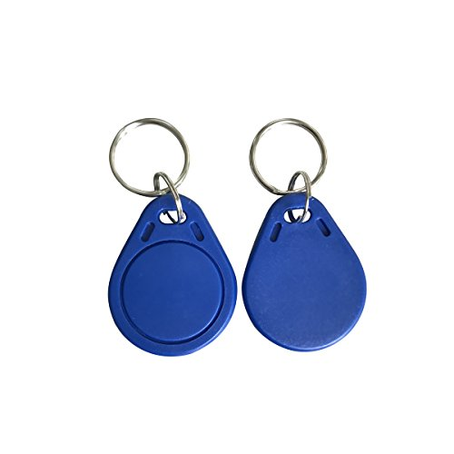 iCode SLI ISO15693 13.56Mhz Key Tag Blue ABS (Pack of 100)