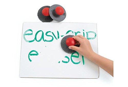 Colorations EGERASER Easy-Grip Erasers (Pack of 10)