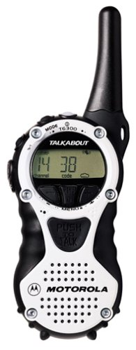 Motorola TalkAbout T6300 AA 2-Mile 14-Channel FRS Two-Way Radio Smoke Black