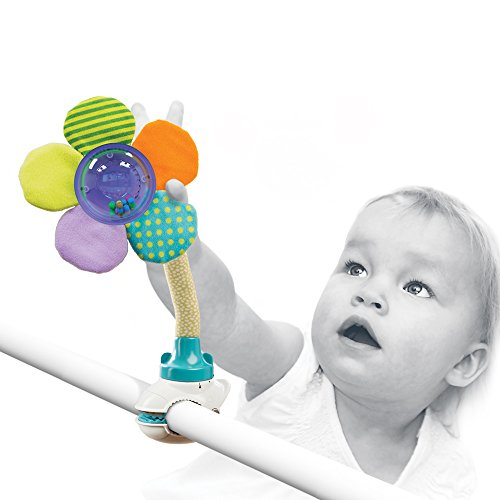 FunFlex Baby Rattle Set Toy Cutomize Play time For - Stroller|Crib|Car Seat|High Chair etc. multifunctional development toy