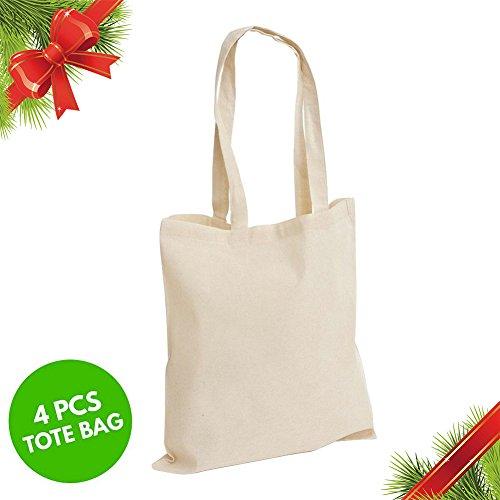 Christmas Gift Twin Tote Bag | 4pcs 14.6