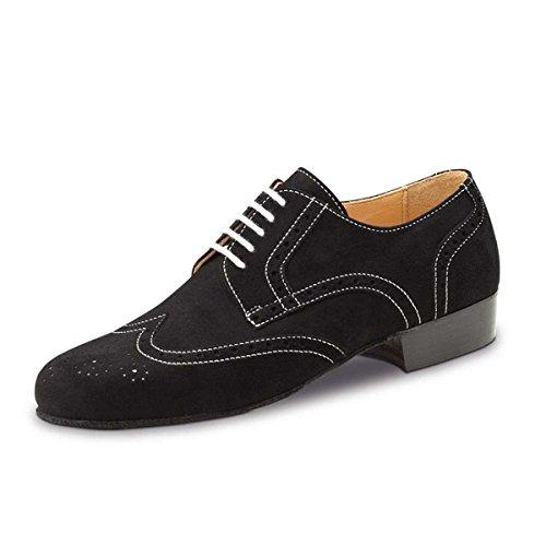 Werner Kern–Hombre Zapatos de baile 28039–ante negro