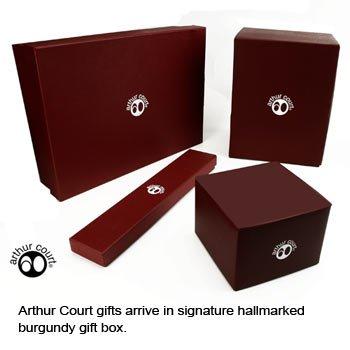 Arthur Court University of Michigan Collegiate Napkin Rings, Set of 4