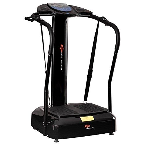 Goplus Full Body Vibration Platform Crazy Fit Massage Fitness Machine 2500W w/ MP3 Player by Goplus