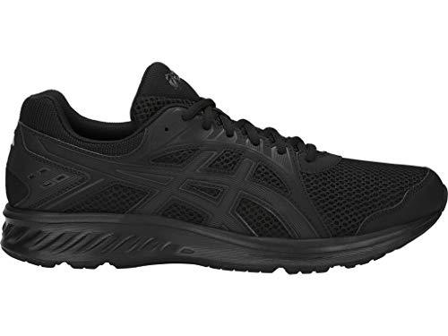 ASICS Men's Jolt 2 Running Shoes, 12M, Black/Dark Grey